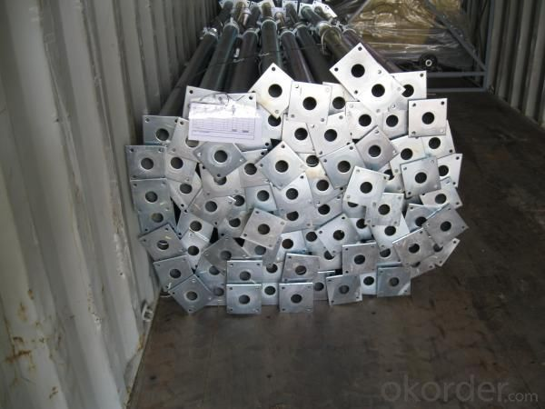 Cold Galvanized Adjust U-head With Length 400mm