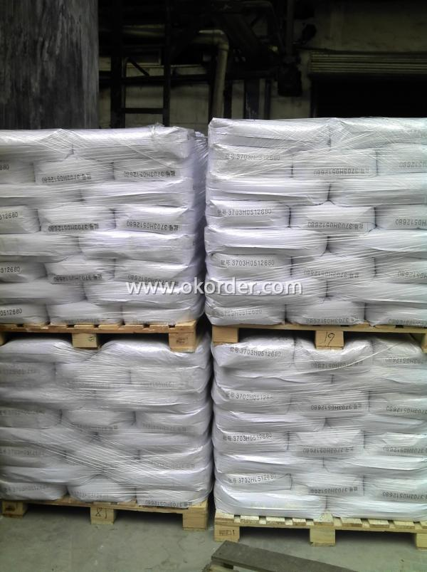 Package of Titanium Dioxide Powder.