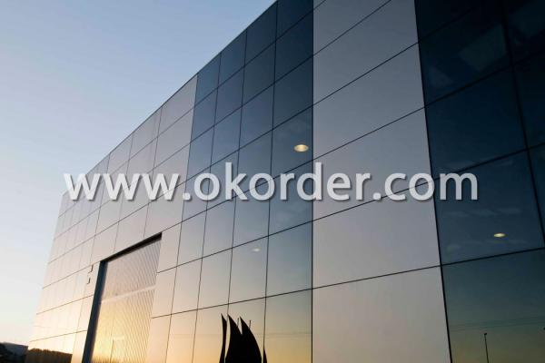 3-19mm clear tempered glass for curtain walls