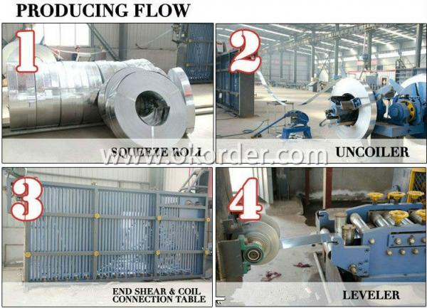 producing of Q345 Pre-Galvanized Pipe