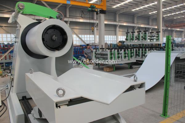 U - section Profile Roll Forming Machine
