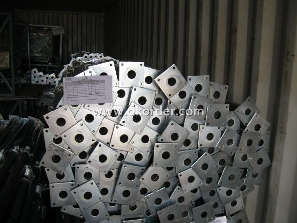 Scaffolding Parts-Hot Dip Galvanized Adjust U-head