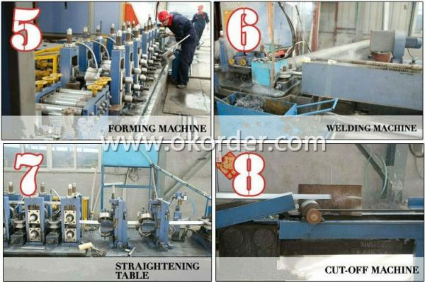 producing of ASTM A 53 Pre-Galvanized Steel Pipe