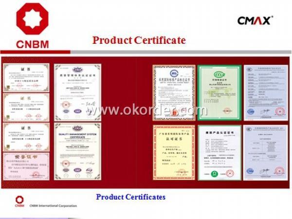 Full Polished Glazed Porcelain Tile COVIA-CJ001 certificates