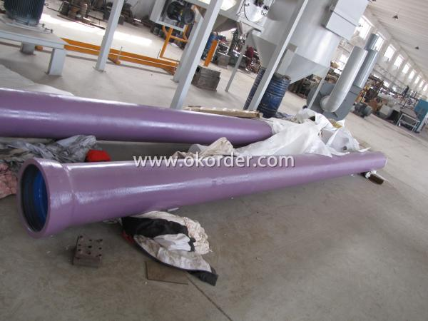 special lining and coating of Ductile Iron Pipe Self Anchor Type