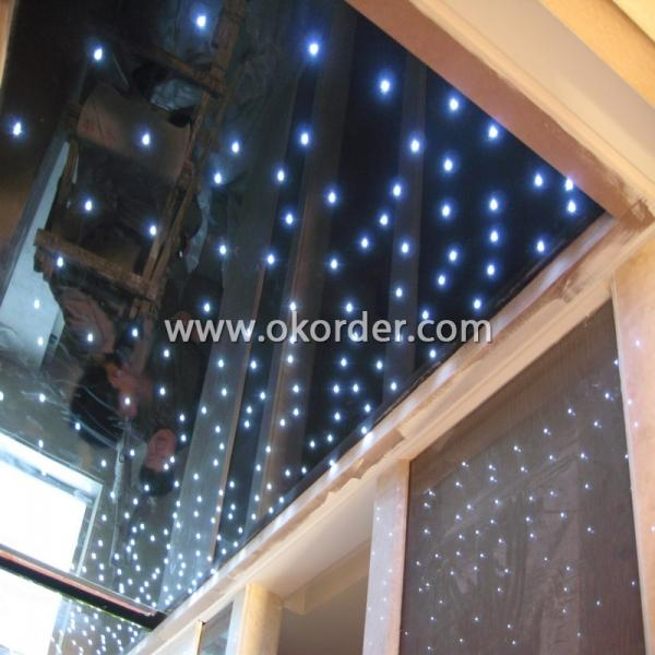 LED Glass for ceiling and roof