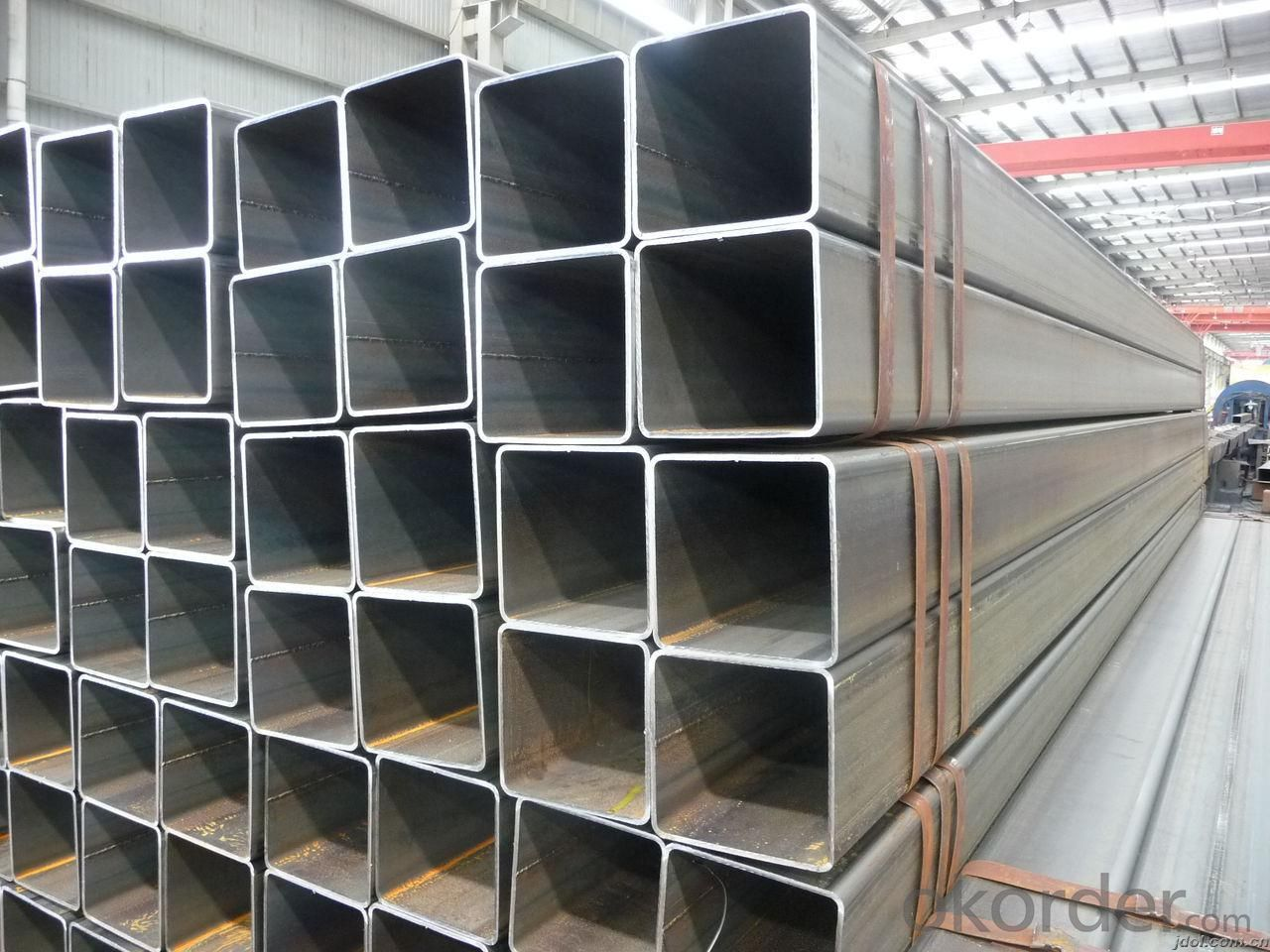 Carbon ERW Welded Pipes-Square Tube And Pipe For Furniture ASTM A53  Hollow Section