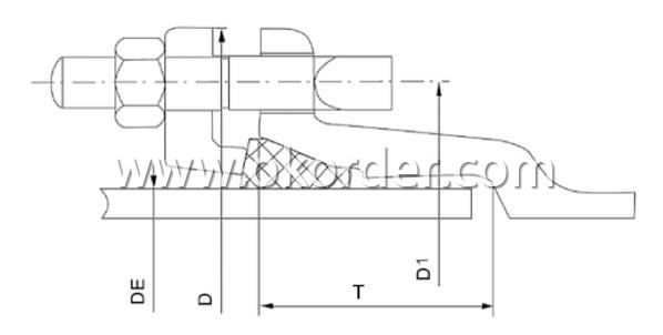 Mechnical Joint of Ductile Iron Pipe Mechnical Joint K Type