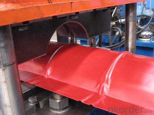 Hat-section Profile Roll Forming Machine