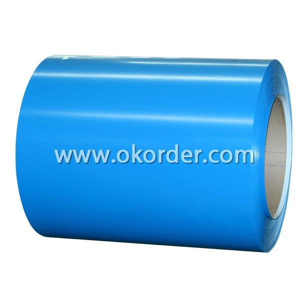 Prepainted Galvanized Steel Coils-Blue