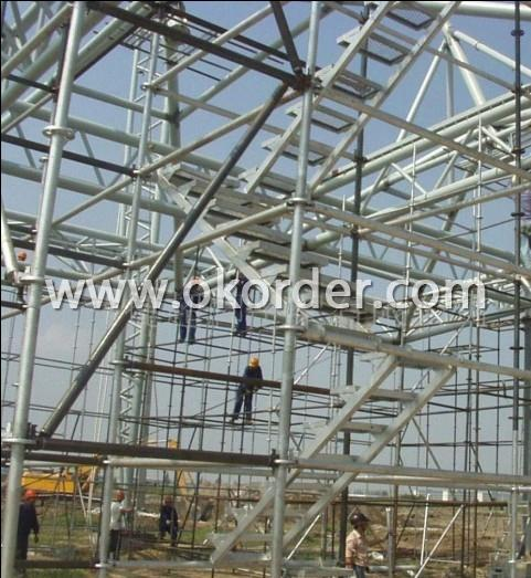 construction scaffold building structure pipe
