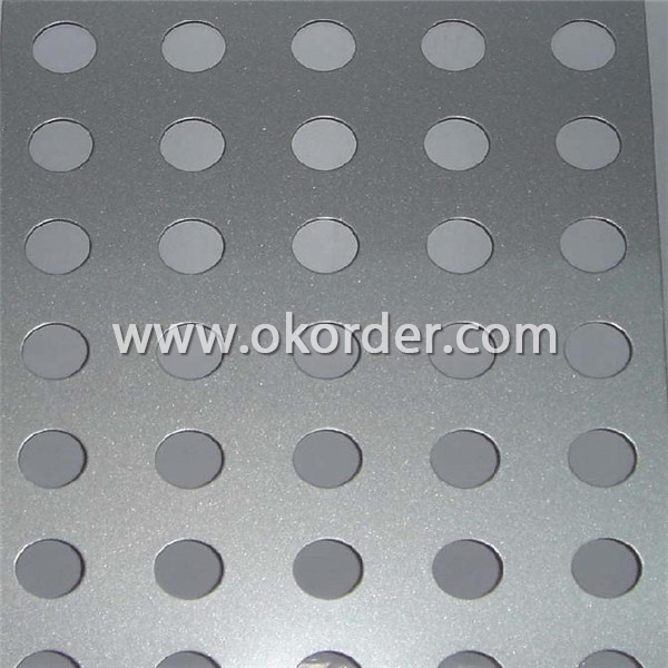 China Manufacturer Perforated Aluminum Coils 1XXX