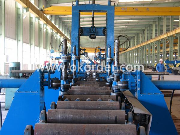 steel structure fitting up machine
