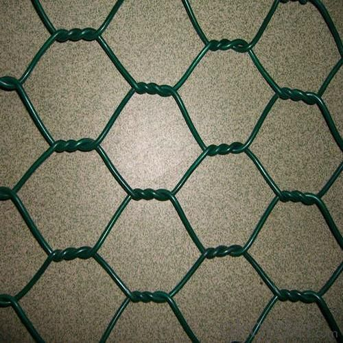 Hexagonal Wire Netting with Inner Galvanized Outside PVC Coated Finish