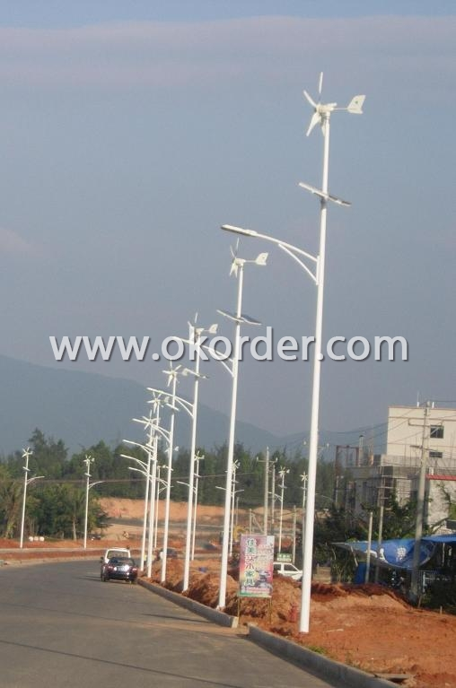 Wind Turbine Five Blades Street Light  Of CNBM-400W