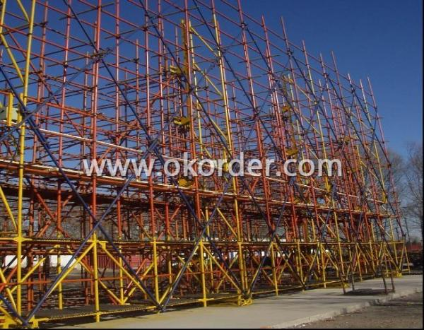 scaffold building structure pipe