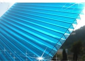 100% Bayer Ten-years Guarteen Triple-Wall Polycarbonate Sheet With UV Protection
