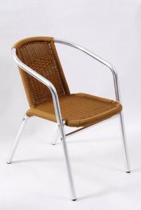 Steel Stackable Rattan Chair