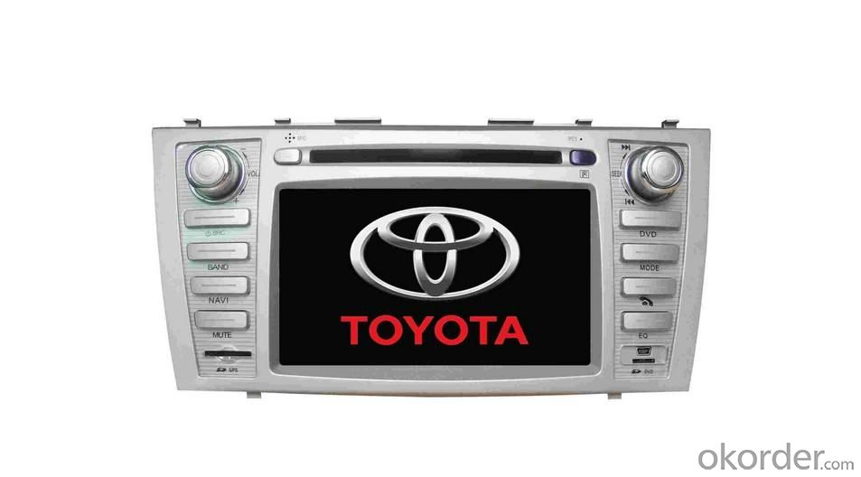 8-inch HD Touch Screen Car DVD Player for Toyota Camry with Global Positioning System