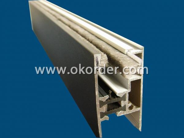 Application of Sealer Pile Weather Strip