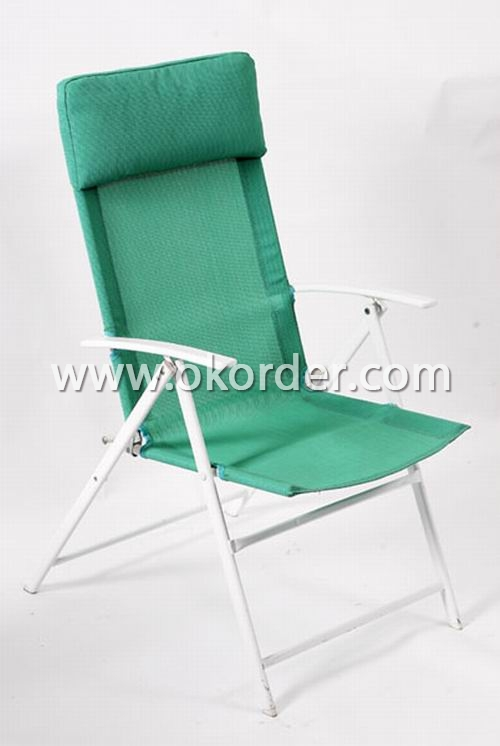 Foldable textilene chair