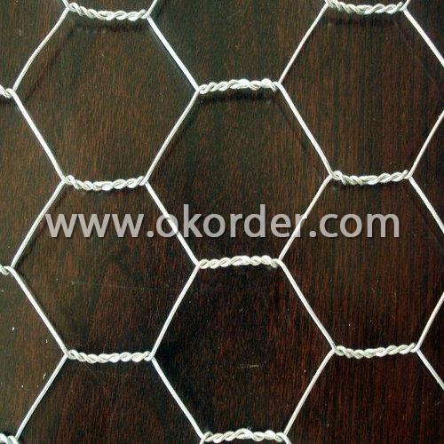 glavanized hexagonal wire mesh