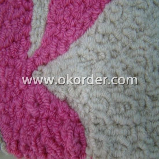 polyester hook handmade carpet