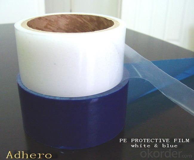 High Quality PE Protective Film White Color S60-30W