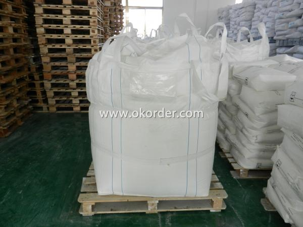 package with pallet of Titanium Dioxide
