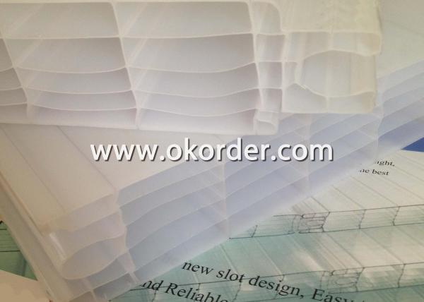 Plug-Pattern Polycarbonate Sheet