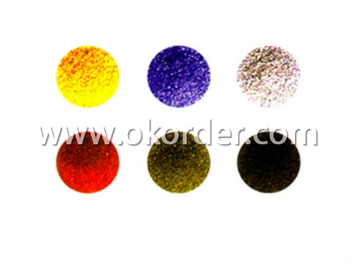 Multicolored Granules