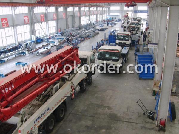 concrete pump truck 43m