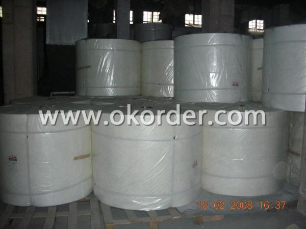 Glass fiber surface tissue