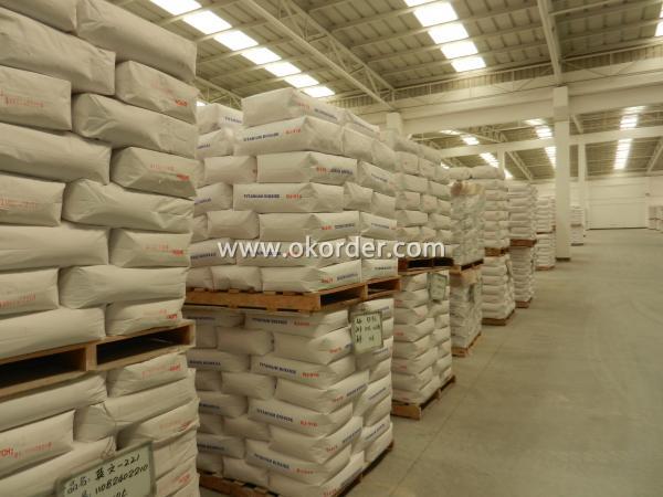store of Titanium Dioxide