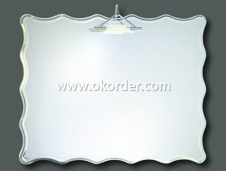 2-6mm aluminium mirror for bathroom and bedroom