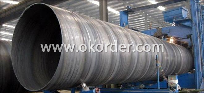 China SSAW welded Steel Pipe