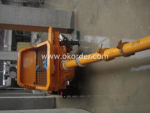 concrete pump HBT80 4