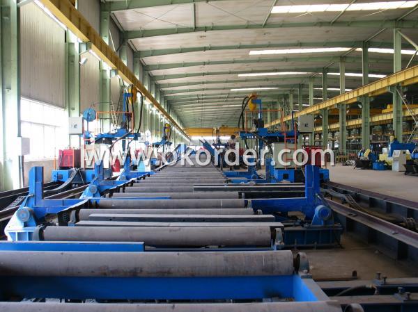 steel structure welding line