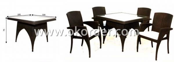 Picture of the dining set