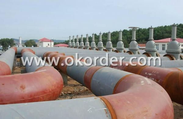 steel structure pipeline