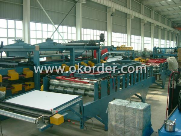 PU Panel Roll Forming Machine