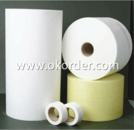 Fiber glass pipe wrap tissue
