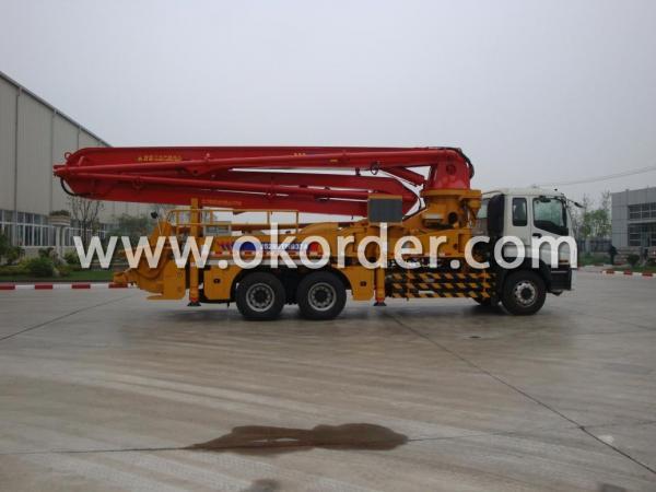 concrete pump truck 37m1