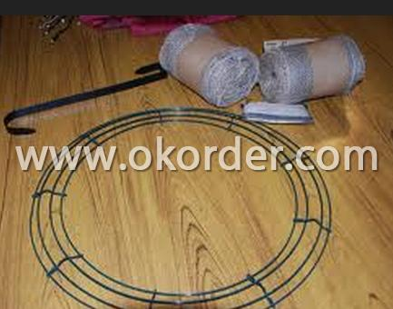 Looped Tie Wire Using for Decorative Mesh
