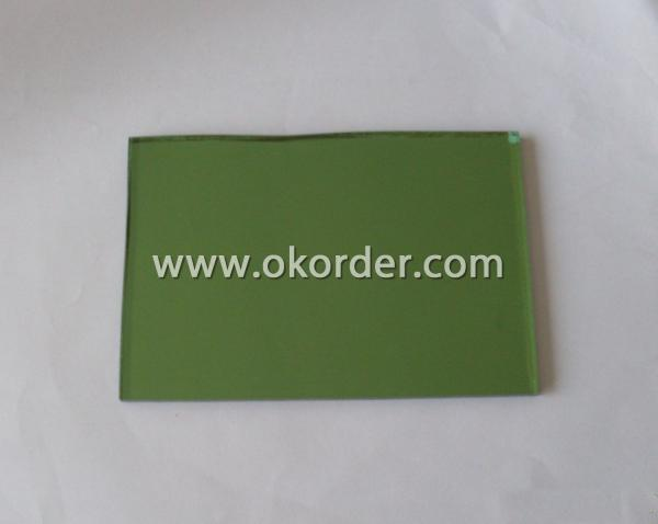 6-12mm dark green float glass