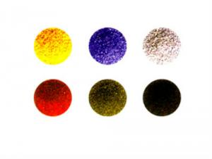 Colors Recycled Multicolored Granules