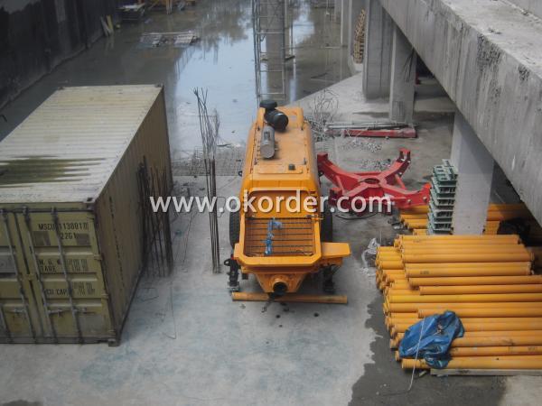 concrete pump HBT80 3