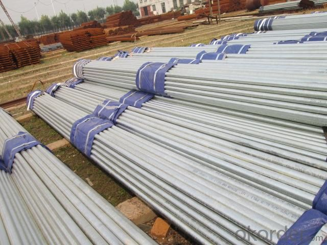 High Quality Hot Dipped Galvanized Seamless Steel Pipe With Competitive Price