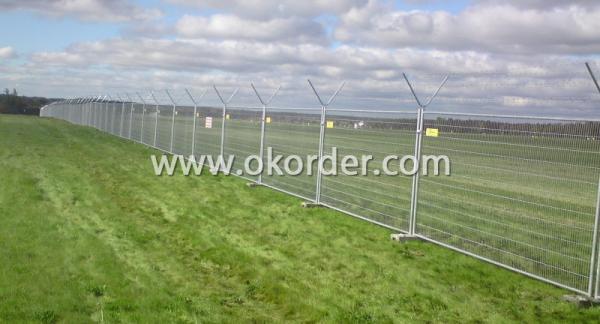 Temporary Fence usage