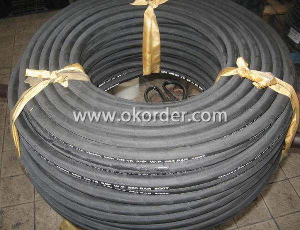 Single, Double-Ply High Pressure Steel Wire Braided Rubber Hose